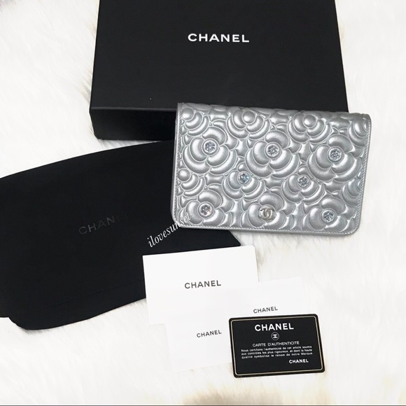 CHANEL Handbags - {CHANEL} Add'l Pictures for Chanel Chrystal WOC